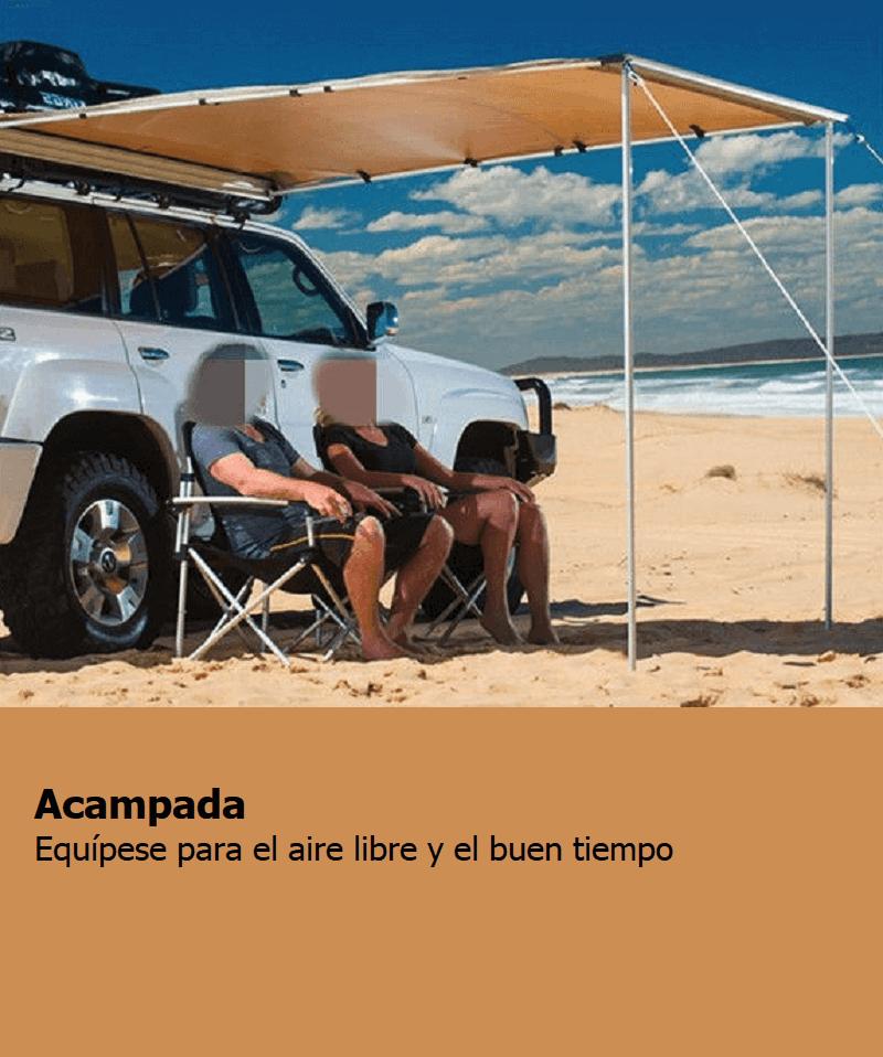 categoría acampada